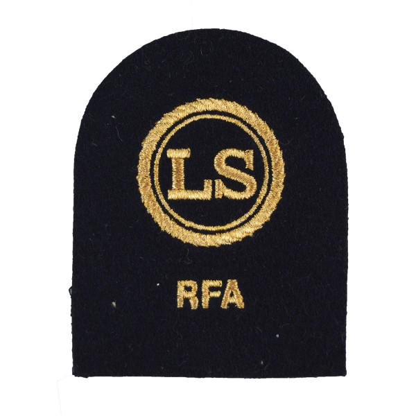 Logistics Supply (LS) - Able Rate - Royal Fleet Auxiliary (RFA) - Royal Navy Badges