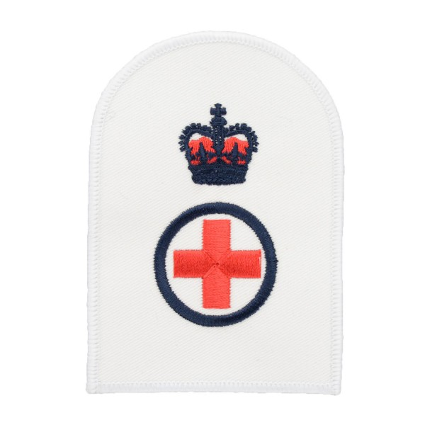 Medical Assistant (MA) - Chief Petty Officer (CPO) - Royal Navy Badges