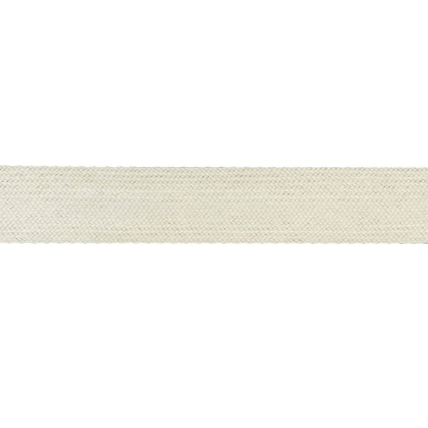 32mm – Natural White – Worsted – Flat Braid