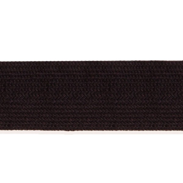 44mm – Black – Worsted – Ratera 65s - Flat Braid