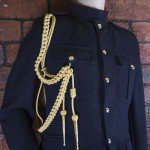 Royal Navy Palace Type Gold Aiguillette - Right Shoulder
