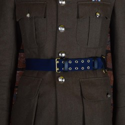 Medium Blue Ceremonial Sword Belt - British Army Officers, Royal Air Force, Royal Navy