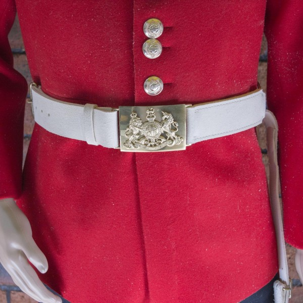 Household Cavalry (HCav) Waist Belt Buff No 11 - British Army