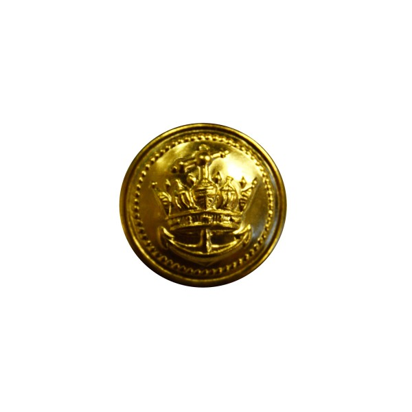 International Royal Navy Gold Metal Button