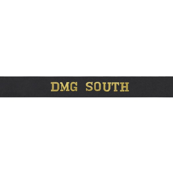Defence Medical Group South Cap Tally - DMG South Cap Tally - Royal Navy