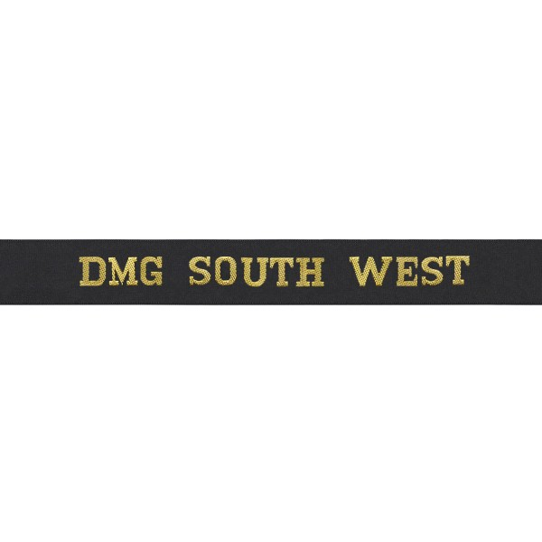 Defence Medical Group South West Cap Tally - DMG South West Cap Tally - Royal Navy