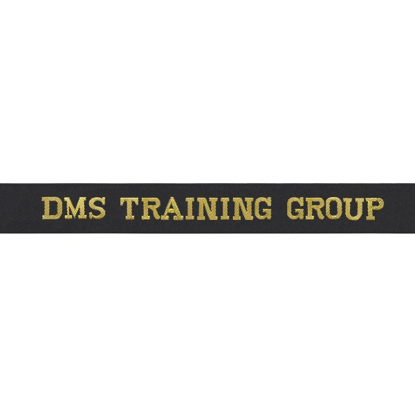 Defence Medical Training Cap Tally - DMS Training Group Cap Tally - Royal Navy