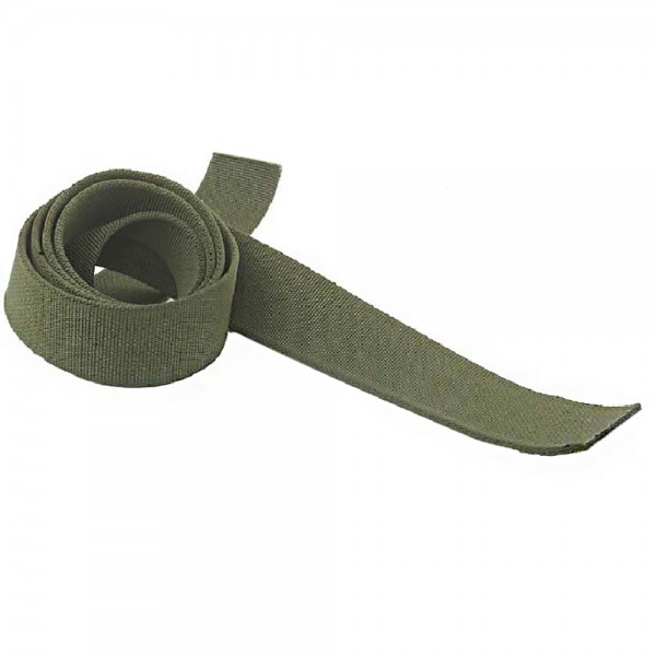 57mm Armed Forces Olive Green Webbing for a Waist Belt