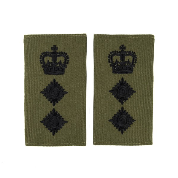 Colonel (Col) - Slider Epaulette - Royal Marines - Royal Navy Badge