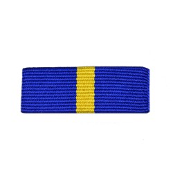 32mm Western European Union Mission Service Medal Ribbon Slider
