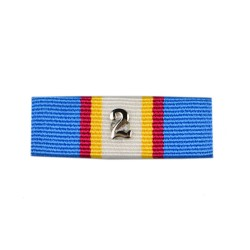 36mm UN Assistance Medal in East Timor & UN Transitional Mission Medal Ribbon Slider