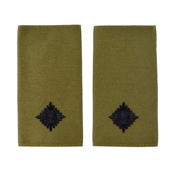 2nd Lieutenant - Slider Epaulette - Royal Marines - Royal Navy Badge