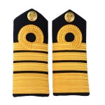 Admiral (Adm) - Shoulder Board Epaulette - Royal Navy Badge