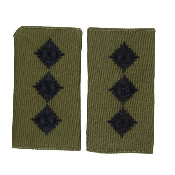 Captain (Capt) - Slider Epaulette - Royal Marines - Royal Navy Badge