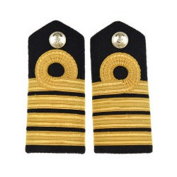 Captain - Shoulder Board Epaulette - Royal Navy Badge