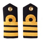 Commander (COM) - Shoulder Board Epaulette - Royal Navy Badge