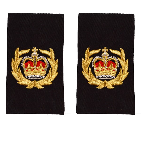 Commander (COM) - Slider Epaulette - Royal Navy Badge