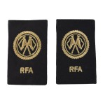 Communications Basic - Slider Epaulette - Royal Fleet Auxilary (RFA) - Royal Navy Badge