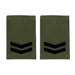 Royal Marines Corporal - Slider Epaulette - Royal Navy Badge