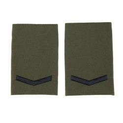 Royal Marines Lance Corporal - Slider Epaulette - Royal Navy Badge