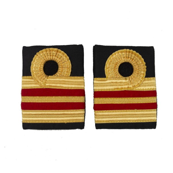 Surgeon Lieutenant Commander - Slider Epaulette - Royal Navy Badge