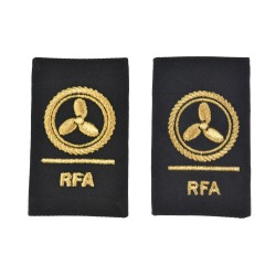 Motorman Slider Epaulette - Chief Petty Officer - Royal Fleet Auxiliary (RFA) - Royal Navy Badge