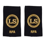 Able Rate - Slider Epaulette - Royal Fleet Auxilary (RFA) - Royal Navy Badge