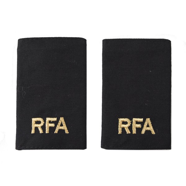 Royal Fleet Auxiliary (RFA) Slider Epaulette - Royal Navy Badge