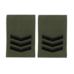 Royal Marines Sergeant - Slider Epaulette - Royal Navy Badge