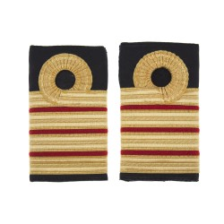 Surgeon Captain Medical (M) - Slider Epaulette - Royal Navy Badge