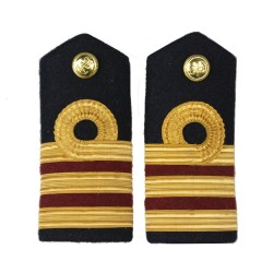 Surgeon Dental Commander (D) - Shoulder Board Epaulette - Royal Navy Officers Badge