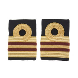 Surgeon Lieutenant Commander Dental (D) - Slider Epaulette - Royal Navy Badge