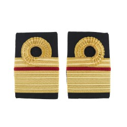 Surgeon Rear Admiral - Slider Epaulette - Royal Navy Badge