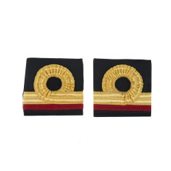 Surgeon Sub-Lieutenant - Slider Epaulette - Royal Navy Badge