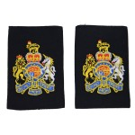 Warrant Officer Class 1 (WO1) - Slider Epaulette - QARNNS - Royal Navy Badge