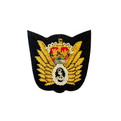 Observer - Pilot Wings Lapel Brooch - Royal Navy Qualification Badge