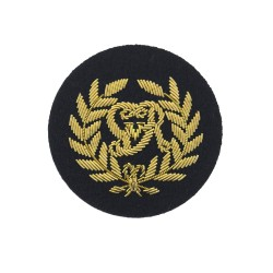 Kings Badge - Royal Marines (RM) Qualification - Royal Navy Badge