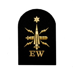 Electronic Warfare (EW) - Able Rate - Royal Navy Badges