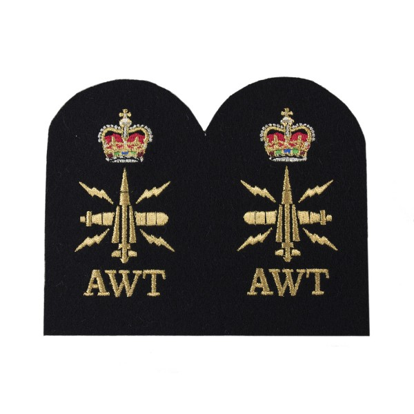 Above Water Tactical (AWT) - Chief Petty Officer (CPO) - Royal Navy Badge