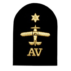 Avionics (AV) - Able Rate - Royal Navy Badge