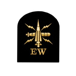 Electronic Warfare (EW) - Basic Rate - Royal Navy Badges