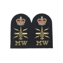 Mine Warfare (MW) - Chief Petty Officer - Royal Navy Badges
