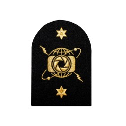 Photographer (P) - Leading Rate - Royal Navy Badge