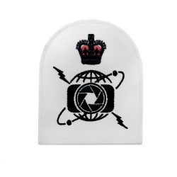 Photographer (P) -Chief Petty Officer - Royal Navy Badge