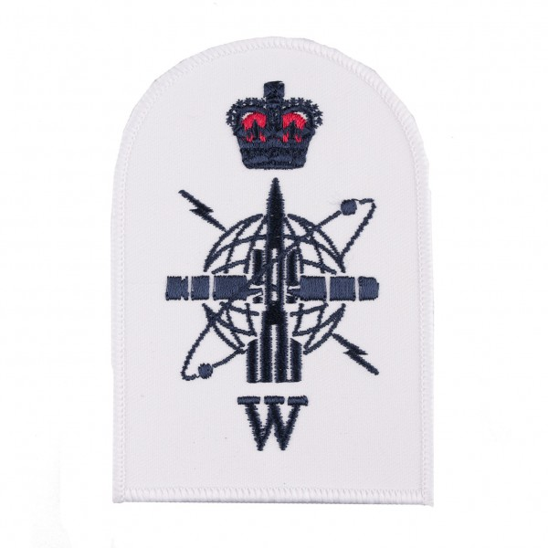 Petty Officer - Weapon Engineering Branch - Communication and Information Systems -  Royal Navy Qualification Badge