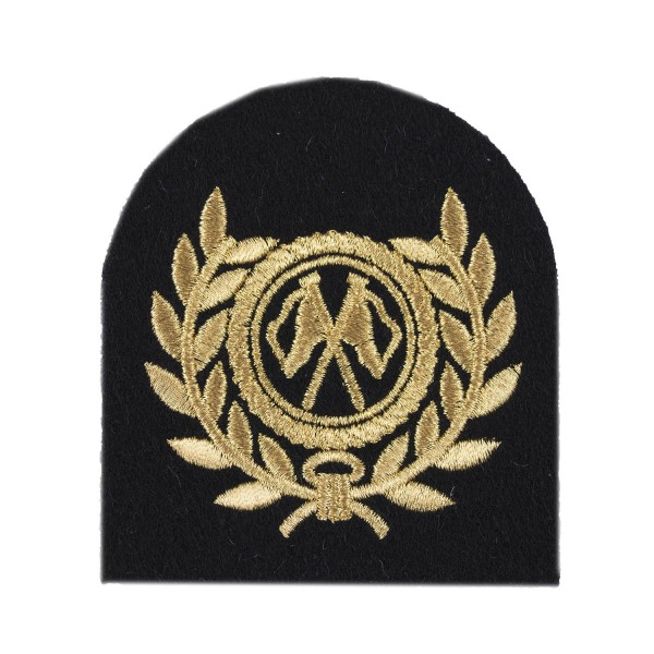 Communications Royal Fleet Auxiliary Chief Petty Officer Qualification Badge - Royal Navy
