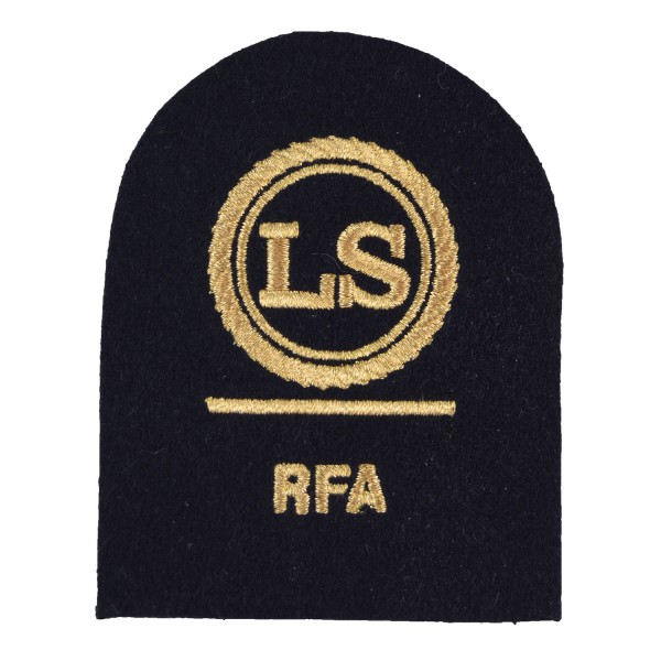 Logistics Supply (LS) - Leading Rate - Royal Fleet Auxiliary (RFA) - Royal Navy Badges