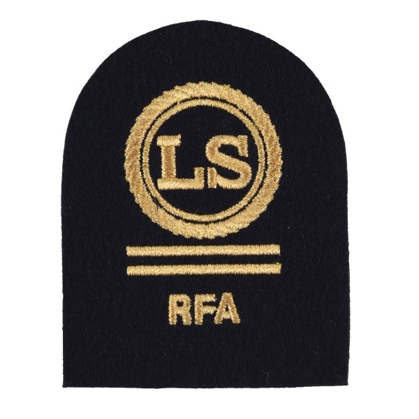 Logistics Supply (LS) - Petty Officer (PO) - Royal Fleet Auxiliary (RFA) - Royal Navy Badges