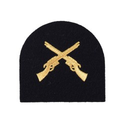 Marine Qualification - Marksman - Blue - Royal Marines (RM) Badges