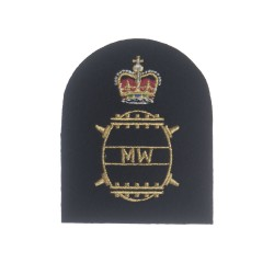 Mine Warfare (MW) - Petty Officer - Royal Navy Warfare Branch Badges